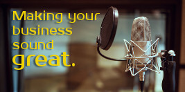 Making your business sound great.